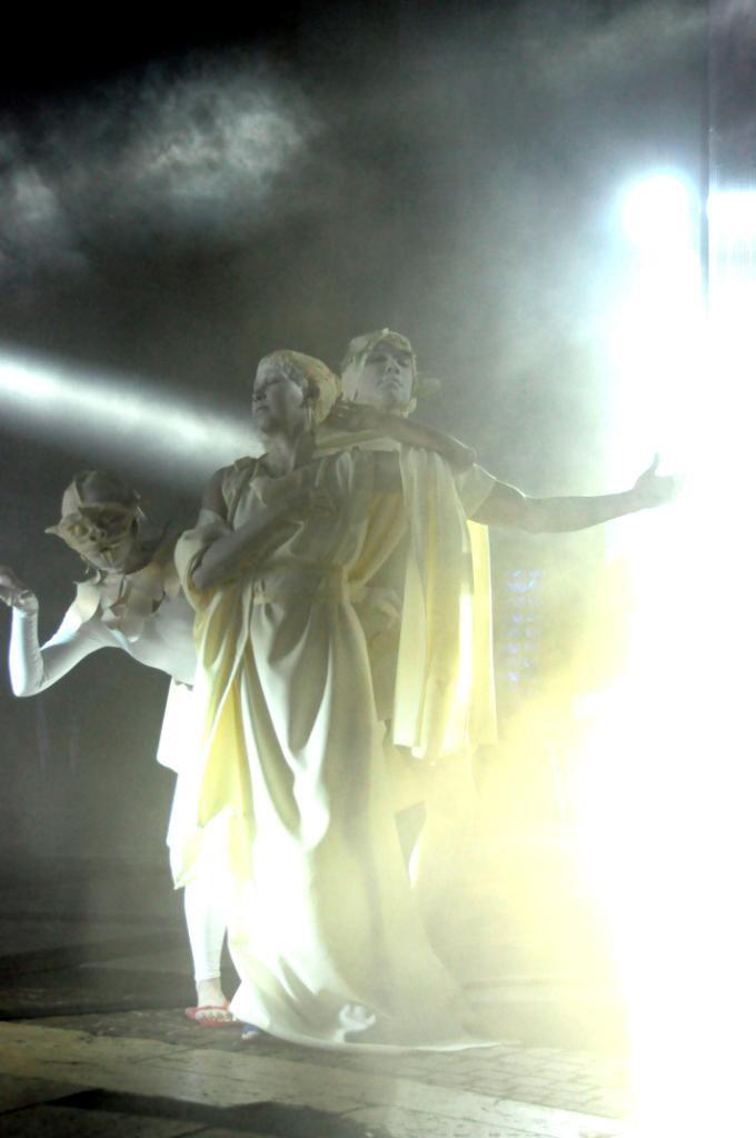 Statues vivantes Chartres en lumières