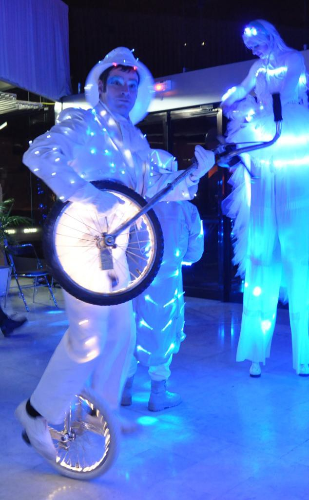 monocycle lumineux
